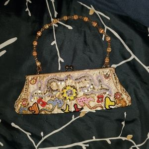 Chateau beaded evening bag